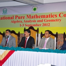 13th International Pure Mathematics Conference 2012