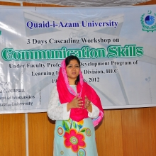 3 Days teachers training Workshop on Communication Skills